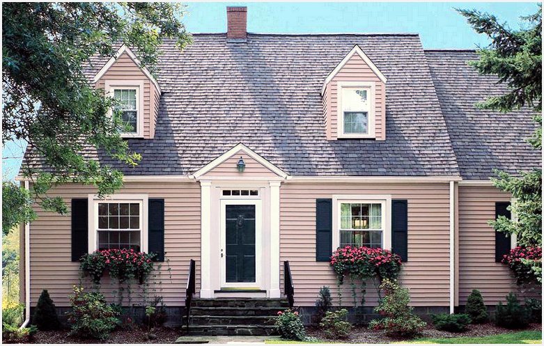 cape cod style home windows