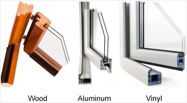 window material options for replacement